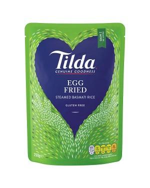 M3 Distribution Services Wholesale Food Tilda Steamed Egg Fried Basmati Rice 250g