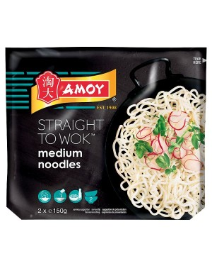 M3 Distribution Services Bulk Food Wholesaler Amoy Straight to Wok Medium Noodles