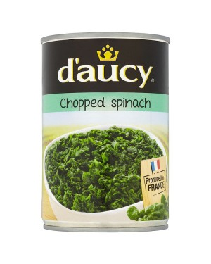 M3 Distribution Services Bulk Food Ireland D'Aucy Chopped Spinach 395g