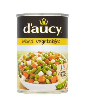 M3 Distribution Services Bulk Food Ireland D'Aucy Mixed Vegetables 400g
