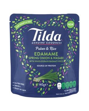 M3 Distribution Services Irish Food Wholesaler Tilda Edamame, Spring Onion & Wasabi Rice (9x140g)