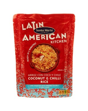 Santa Maria Coconut/Chilli Rice (6x250 G)