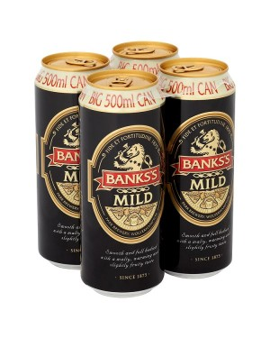 M3 Distribution Bank's Mild 4pack Big 500ml Cans