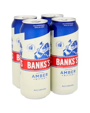 M3 Distribution Banks's Amber Bitter (4x500ml)
