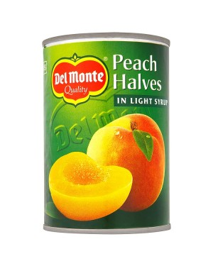 M3 Distribution Services, Food Wholesale Ireland Del Monte Peach Halves in Syrup 420g