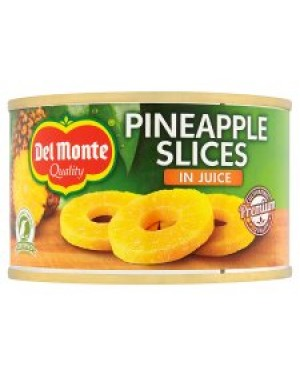 M3 Distribution Services, Food Wholesale Ireland Del Monte Pineapple Slices in Juice 220g