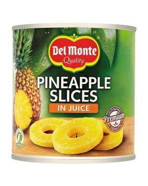 M3 Distribution Services, Food Wholesale Ireland Del Monte Pineapple Slices in Juice 435g