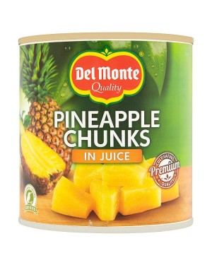 M3 Distribution Services, Food Wholesale Ireland Del Monte Pineapple Chunks in Juice 435g