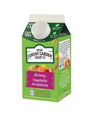 M3 Distribution Services Irish Food Wholesaler Covent Garden Skinny Veg Arrabbiata Soup (6x600g)