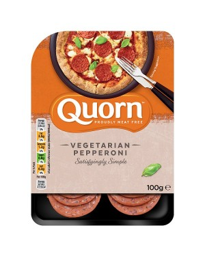 Quorn Meat Free Pepperoni Slices