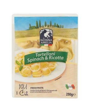 M3 Distribution Services Wholesale Food Nonna Amelia Tortelloni Spinach & Ricotta 250g