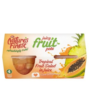 M3 Distribution Services, Food Wholesale Ireland Natures Finest Tropical Fruit Salad in Juice 4pack