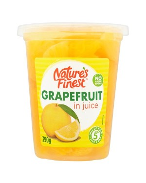 M3 Distribution Services, Food Wholesale Ireland Natures Finest Grapefruit Segments in Juice 390g