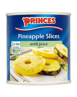 M3 Distribution Services, Food Wholesale Ireland Princes Pineapple Slices in Juice 432g