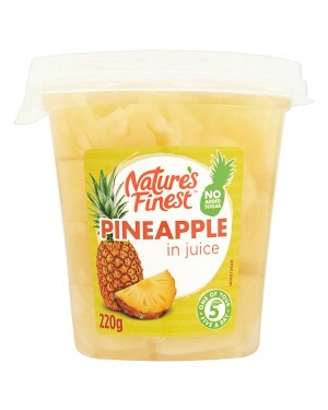 M3 Distribution Services, Food Wholesale Ireland Natures Finest Pineapple in Juice 220g