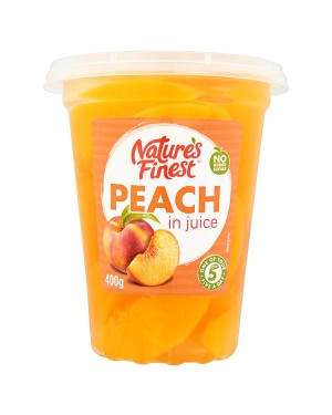M3 Distribution Services, Food Wholesale Ireland Natures Finest Peach Slices in Juice 400g