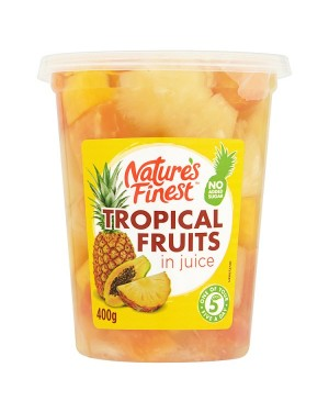 M3 Distribution Services, Food Wholesale Ireland Natures Finest Tropical Fruits in Juice 400g