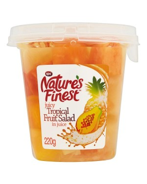 M3 Distribution Services, Food Wholesale Ireland Natures Finest Tropical Fruit Salad in Juice 220g
