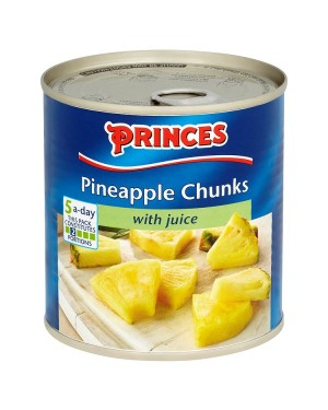 M3 Distribution Services, Food Wholesale Ireland Princes Pineapple Chunks in Juice 432g