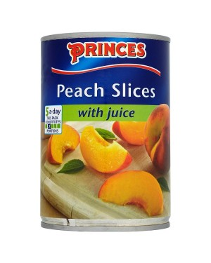 M3 Distribution Services, Food Wholesale Ireland Princes Peach Slices in Juice 410g