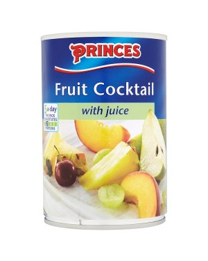 M3 Distribution Services, Food Wholesale Ireland Princes Fruit Cocktail in Juice 410g