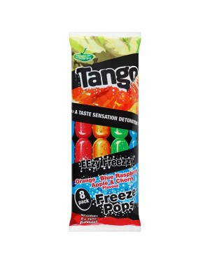 M3 Distribution Services Irish Food Wholesaler Tango Assorted Ice Pops 8pack (20x8x75ml)