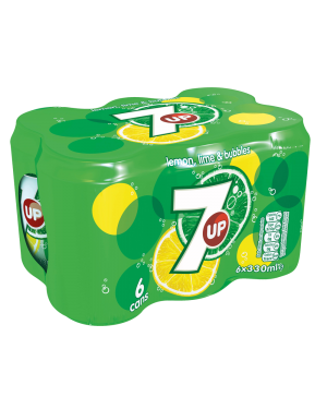 M3 Distribution Services Irish Food Wholesaler 7UP Regular 6pack (4x6x330ml)
