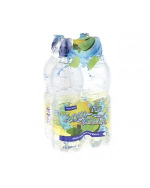 M3 Distribution Services Irish Food Wholesaler Aqua Roma Lemon & Lime 4pack PMÃ'ÂÃ