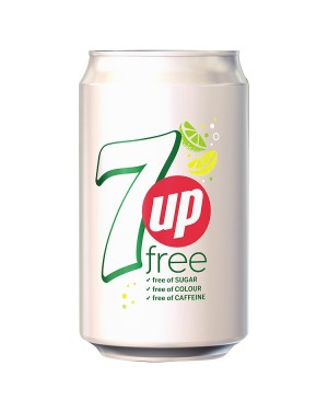 M3 Distribution Services Irish Food Wholesaler 7UP Free (24x330ml)