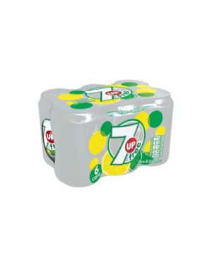 M3 Distribution Services Irish Food Wholesaler 7UP Free 6pack (4x6x330ml)