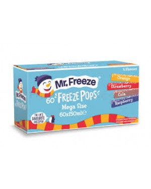 M3 Distribution Services Mr Freeze Assorted Freezepops Jumbo