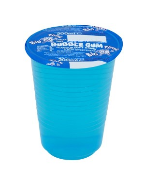 M3 Distribution Services Irish Food Wholesaler Big Time Cup Drink - Bubblegum (24x200ml)