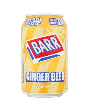 M3 Distribution Services Irish Food Wholesaler Barr Ginger Beer PM39p (24x330ml)