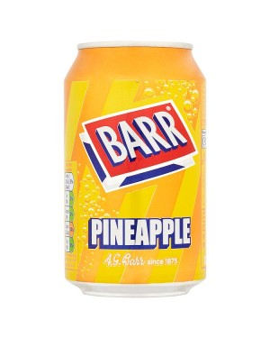 M3 Distribution Services Irish Food Wholesaler Barr Pineapple PM39p (24x330ml)