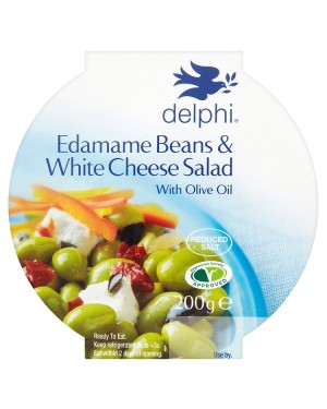 M3 Distribution Services Delphi Edamame Bean & White Cheese Salad