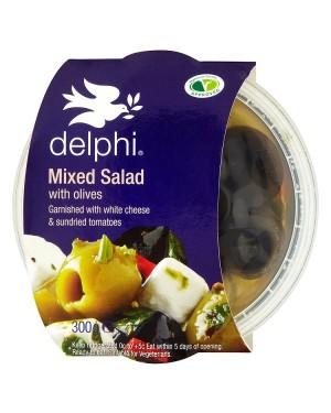 M3 Distribution Services Delphi Mixed Salad with Olives 300g