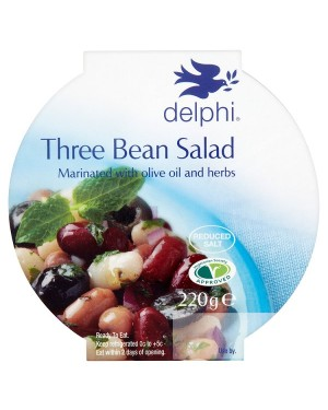 M3 Distribution Services Delphi Three Bean Salad 220g