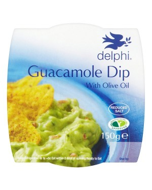 M3 Distribution Services Delphi Fresh Guacamole Dip 150g