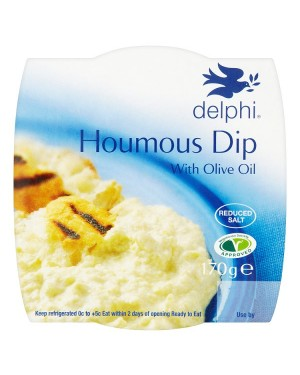 M3 Distribution Services Delphi Fresh Houmous Dip (6x170g)