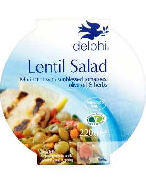 M3 Distribution Services Delphi Lentil Salad 200g
