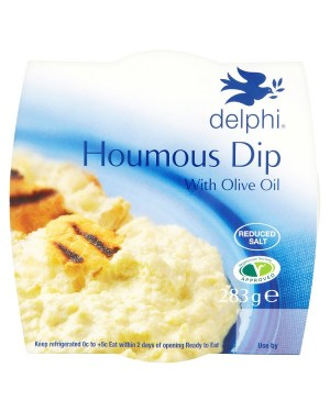 M3 Distribution Services Delphi Fresh Houmous Dip (6x283g)