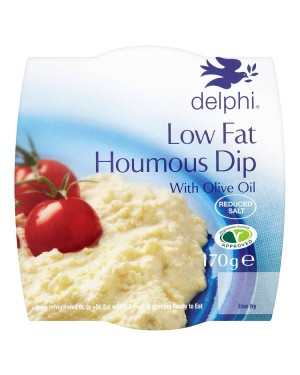 M3 Distribution Services Delphi Fresh Low Fat Houmous Dip 170g