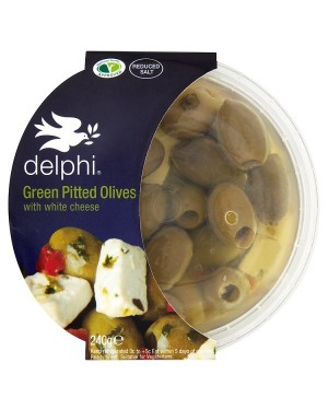 M3 Distribution Services Delphi Black Pitted Kalamatta Feta Olives