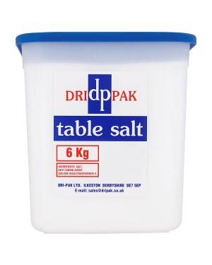 M3 Distribution Services Irish Food Wholesale Dri-Pak Table Salt 6KG