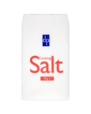 M3 Distribution Services Irish Food Wholesale Dri-Pak Cooking Salt Bag 3KG