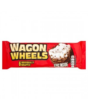 M3 Distribution Services Irish Food Wholesaler Burtons Wagon Wheels 220g PMÃÆÃÃâ€