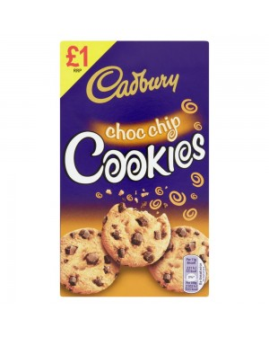 M3 Distribution Services Irish Food Wholesaler Cadbury Chocolate Chip Cookies 150g PMÃÆÃÆ