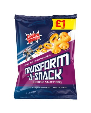M3 Distribution Irish Wholesale Food Distributor Golden Wonder Transform-a-Snack Saucy BBQ PMÃ'Ãââ'