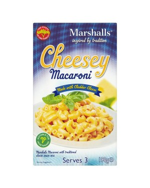 M3 Distribution Services Wholesale Food Marshalls Cheesey Macaroni 190g