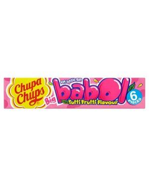 M3 Distribution Services Irish Food Wholesaler Chupa Chups Gum Tutti Frutti Flavour Gum (20x28g)